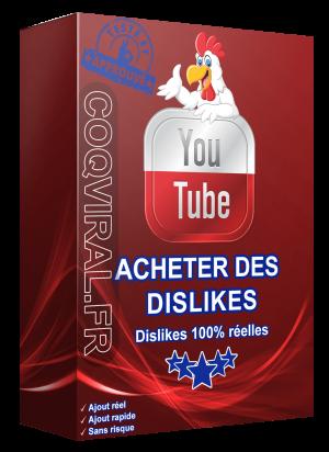 Acheter Des Dislikes sur YouTube – INDISPONIBLE