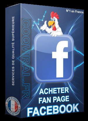 Acheter Fans Page Facebook