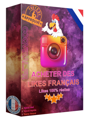 Acheter Like Français Instagram