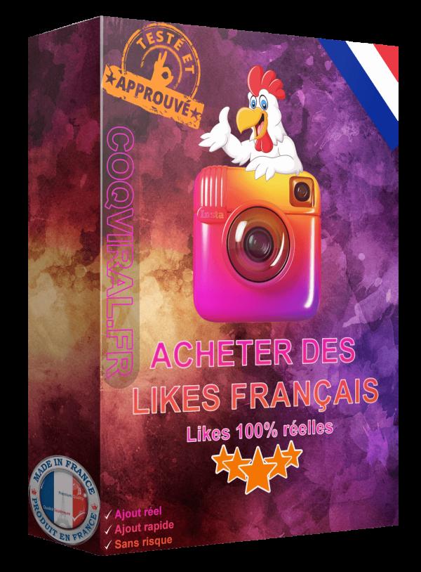 Acheter Like Français Instagram – INDISPONIBLE