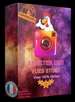 Acheter Vues Story Instagram