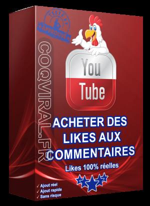 Acheter Des Likes aux Commentaires YouTube