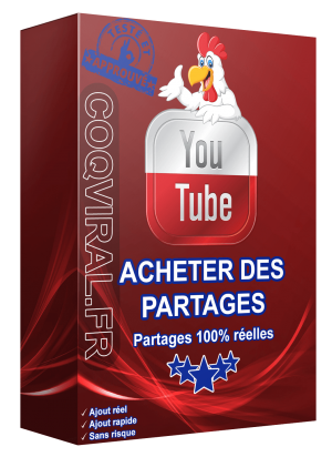 Acheter des Partages YouTube