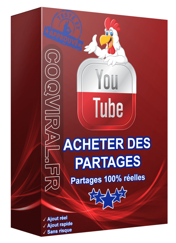 Acheter Partages YouTube