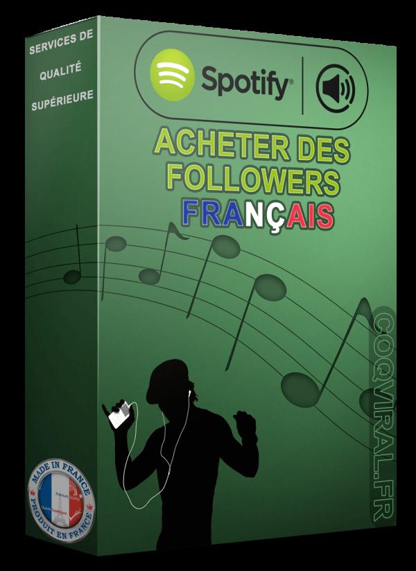 Acheter Spotify Followers Français