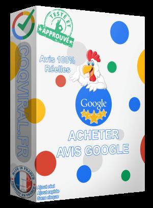 Acheter Avis Google