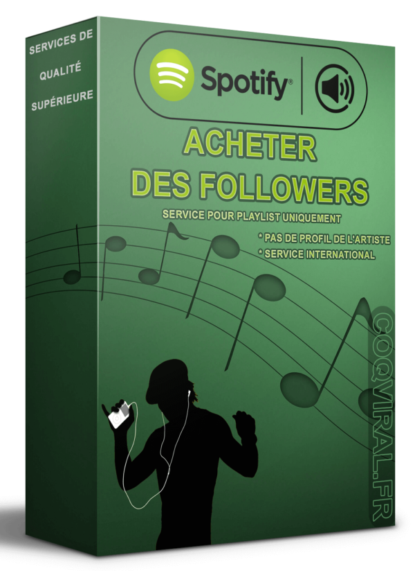 Acheter Followers Spotify – Playlist